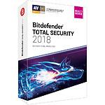 Bitdefender Total Security 2018 (2 ans 10 postes)