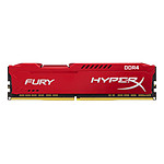 HyperX Fury Red DDR4 1 x 16 Go 2400 MHz CAS 15