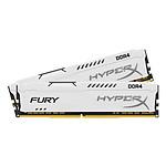HyperX Fury White DDR4 2 x 8 Go 2400 MHz CAS 15