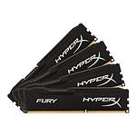HyperX Fury Black DDR4 4 x 8 Go 2666 MHz CAS 16