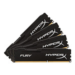HyperX Fury Black DDR4 4 x 16 Go 2666 MHz CAS 16