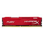 HyperX Fury Red DDR4 1 x 16 Go 3466 MHz CAS 19