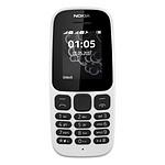 Nokia 105 (TA-1034) - Double SIM (blanc)