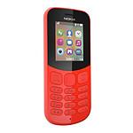 Nokia 130 (TA-1017) - Double SIM (rouge)