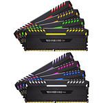 Corsair Vengeance RGB DDR4 8 x 16 Go 3600 MHz CAS 18