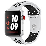 Apple Watch Series 3 Nike+ (argent - platine/noir) - Cellular - 38 mm