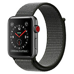 Apple Watch Series 3 (gris sidéral - olive) - Cellular - 38 mm