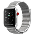 Apple Watch Series 3 (argent - coquillage) - Cellular - 42 mm