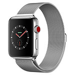 Apple Watch Series 3 (argent - argent) - Cellular - 42 mm