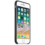 Apple Coque silicone (noir) - iPhone 8 / 7