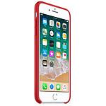 Apple Coque silicone (rouge) - iPhone 8 Plus / 7 Plus
