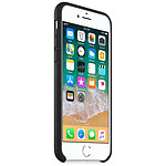 Apple Coque cuir (noir) - iPhone 8 / 7