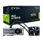 EVGA GeForce GTX 1070 Ti SC Hybrid Gaming - 8 Go