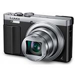 Panasonic Lumix DMC-TZ70 Silver + Etui + carte SD 8Go (Pack)