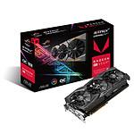 Asus ROG Strix Radeon RX VEGA 64 O8G Gaming - 8 Go