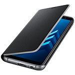 Samsung Etui Flip neon (noir) - Galaxy A8