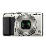 Nikon Coolpix A900 Argent + étui + SD 8Go (pack)