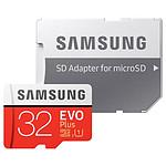 Samsung Evo Plus SDXC 32 Go (95 Mo/s) + adaptateur SD