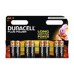 Duracell Piles Alcaline Plus Power AA LR06 (par 8)