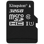 Kingston microSDHC 32 Go Canvas Select (80Mo/s)