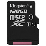 Kingston microSDXC 128 Go Canvas Select (80Mo/s)