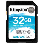 Kingston SDHC 32 Go Canvas Go! (90 Mo/s)