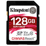 Kingston SDXC 128 Go Canvas React (100 Mo/s)