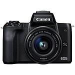 Canon EOS M50 + 15-45 mm Noir