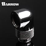 BARROW TWT90-v2.5 - Embout rotatif à 90° mâle vers femelle - Argent