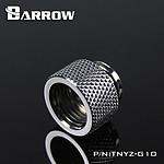 BARROW TNYZ-G10 -  Extension 10mm mâle vers femelle - Argent