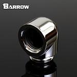 BARROW TDWT90-V2 - Embout 90° mâle vers femelle - Argent