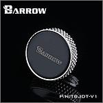"BARROW TBJDT-V1 - Bouchon G1/4"" finition miroir argent"