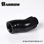 BARROW TSWT902-V1 - Embout rotatif à 90° 2-Way - Noir