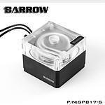 BARROW SPB17-S - POMPE 17W PWM - TRANSPARENT RGB / NOIR