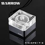 BARROW SPB17-S - Pompe 17W PWM - Transparent RGB / Argent