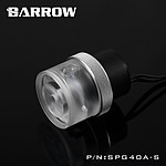BARROW SPG40A-S - POMPE 18W TRANSPARENT / ARGENT