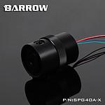 BARROW SPG40A-X - POMPE 18W CARENÉE NOIR / NOIR