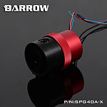 BARROW SPG40A-X - POMPE 18W CARÉNÉE NOIR / ROUGE