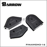 BARROW AWGM3-16 - KIT DE CINTRAGE 16MM (3PCS)