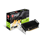 MSI GeForce GT 1030 LP OC - 2 Go (DDR4)