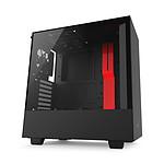 NZXT H500 - Noir/rouge + NZXT E650