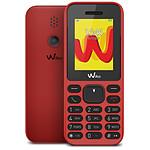 Wiko Lubi 5 (rouge) - double SIM