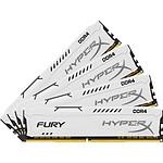 HyperX Fury White DDR4 4 x 16 Go 2933 MHz CAS 17