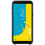 Samsung Coque double (noir) - Galaxy J6