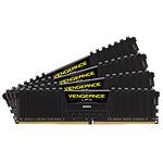 Corsair Vengeance LPX Black DDR4 4 x 16 Go 3000 MHz CAS 15