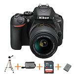 Nikon D5600+ 18-55+ Sacoche+ SD 16Go+ Trepied+ Batterie