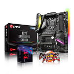 Intel Core i7 8700K + MSI Z370 GAMING PRO CARBON