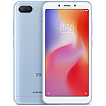 Xiaomi Redmi 6 (bleu) - 3 Go - 32 Go