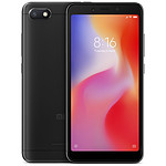 Xiaomi Redmi 6A (noir) - 2 Go - 16 Go