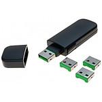 Clé de sécurisation pour USB Type A Vert